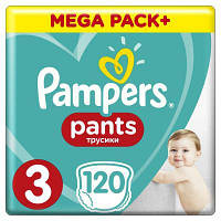 Подгузник Pampers трусики Pants Midi Размер 3 (6-11 кг), 120 шт (4015400697527)