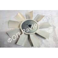 Крыльчатка вентилятора ЯМЗ-236 (пластик)