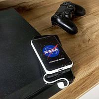 Повербанк с рисунком ZIZ НАСА 5000 mAh Powerbank, повер банк, power bank, портативный аккумулятор, фото 1