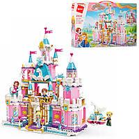 Конструктор Qman 2616 замок принцессы, мебель, фигурки, 801 дет.