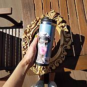 Термокружка ZIZ с рисунком Аполлоныч, термос, термостакан с крышкой, термочашка непроливайка 380 мл