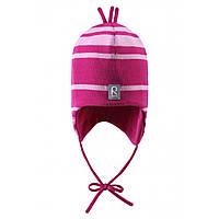 Шерстяная зимняя шапка Reima Auva 518241-4620. Размер 46, 48, 50 и 52., фото 1