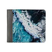 Кошелек с изображением ( картинкой ) ZIZ Океаническая волна