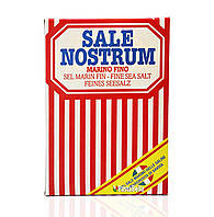 """Итальянская пищевая морская соль, мелкая - """"Sale Marino Fino"""" Sale Nostrum 1000g"""