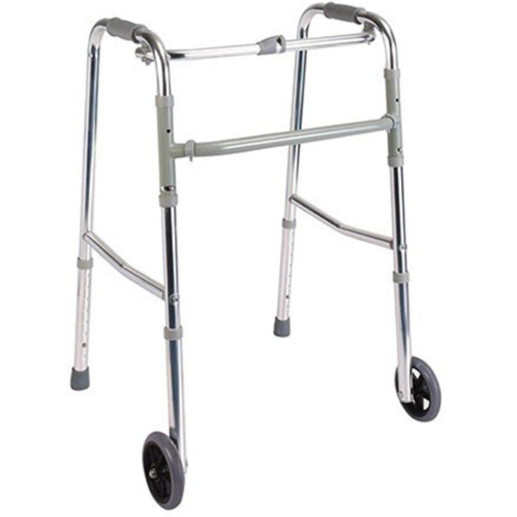 Ходунки для инвалидов Dayang DY04912L(4)-5 усиленные, на колесах
