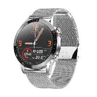 Microwear L13 смарт часы с тонометром, ЭКГ, звонки через телефон - Серебро, фото 1