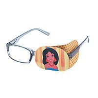 """Окклюдер на очки текстильный детский """"Жасмин"""""""