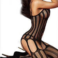 Сексуальный комбинезон  Almas Black с откровенным вырезом от Livia Corsetti, фото 2