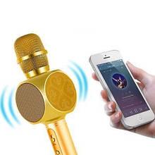 Беспроводной микрофон караоке SU·YOSD YS-63 gold