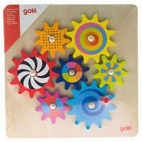 Развивающая игрушка Goki Познавательные шестеренки (58530)