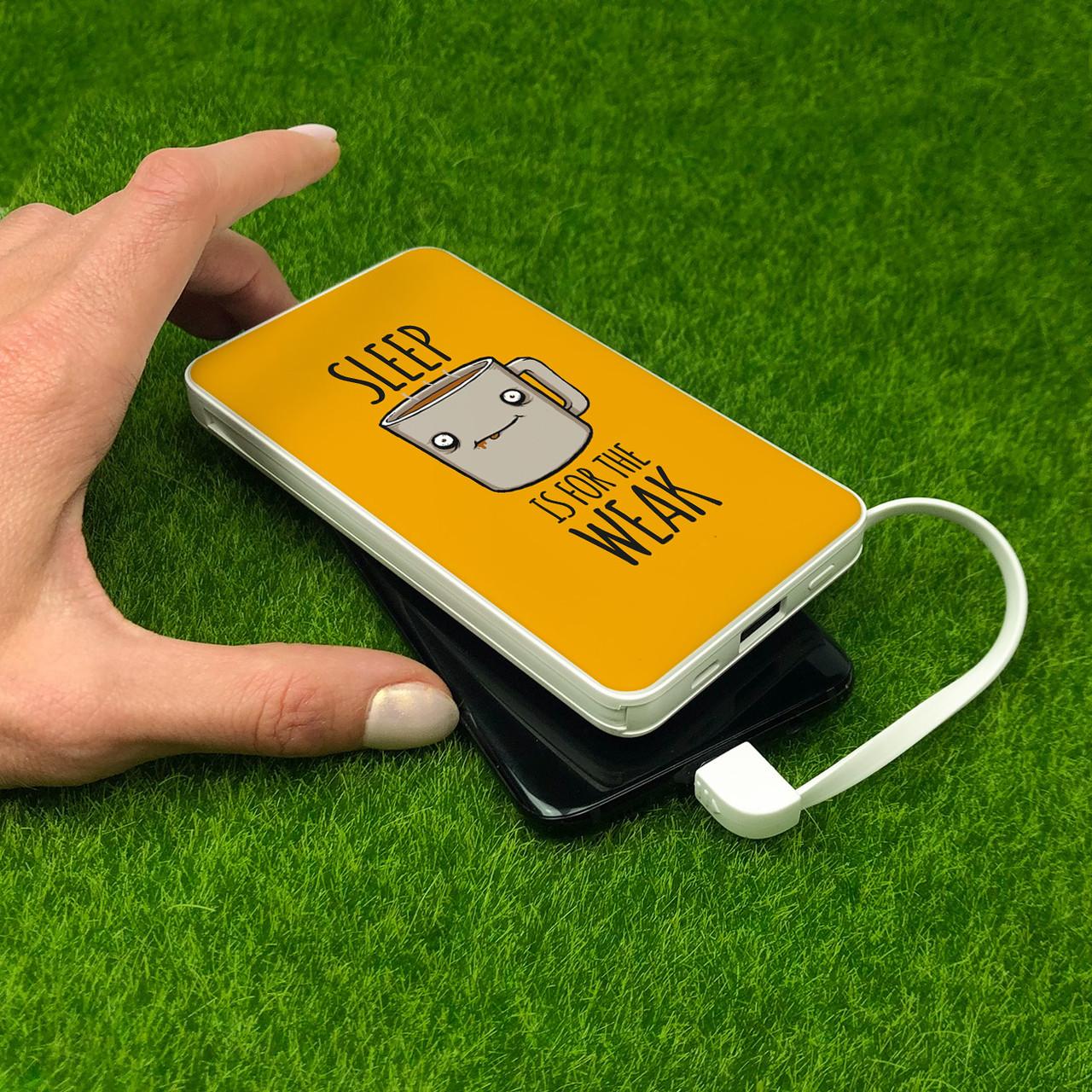 Повербанк ZIZ Сон для слабаков 10000 mAh Powerbank, повер банк, power bank, портативный, внешний аккумулятор
