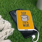 Повербанк ZIZ Сон для слабаков 5000 mAh Powerbank, повер банк, power bank, портативный аккумулятор