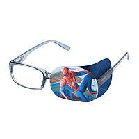 """Окклюдер на очки с рисунком """"Паучек"""""""