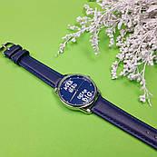 Часы ZIZ Мечтай Работай (ремешок ночная синь, серебро) + дополнительный ремешок