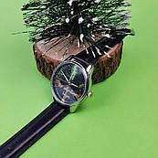 Часы ZIZ Начало приключений (ремешок насыщенно - черный, серебро) + дополнительный ремешок