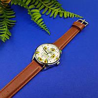 Годинник ZIZ ЗСЖ (кавово - шоколадний, срібло) + додатковий ремінець, фото 1