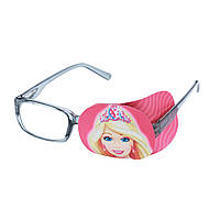 """Окклюдер тканевый на очки с рисунком """"Принцесса"""""""