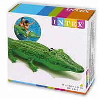 "Intex Плотик 58546 NP ""Крокодил"" размером 168х86см, от 3-х лет, фото 1"
