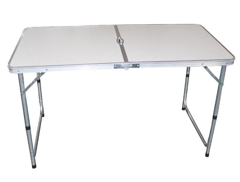 Стол складной алюминиевый 120*60*69 № 9002