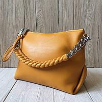 Женская сумка кросс-боди Polina & Eiterou (А9270-1/Yellow)