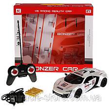Автомобіль на радіокеруванні Bonzer Car 1:16 ,Білий, червоний колір, фото 3