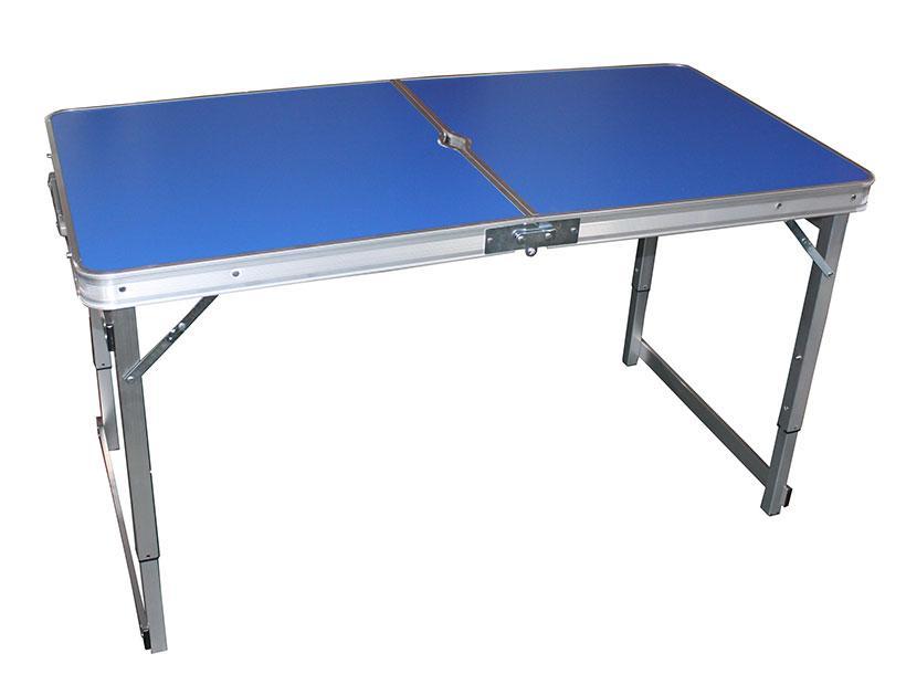 Стол складной алюминиевый усиленный 120*60*69 №9003