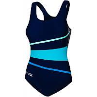 Закрытый женский купальник Aqua Speed Stella (original), цельный, слитный, для бассейна, для пляжа 38