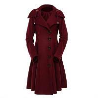 Осеннее женское пальто. Модель 18228, фото 7
