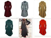 Осеннее женское пальто. Модель 18228, фото 10