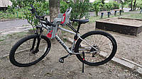 Детское велокресло переднеее на рамму до 15 кг TILLY T-812