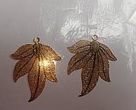 Листочек декор подвеска, фото 1