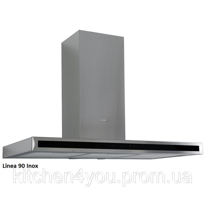 Fabiano Linea 90 inox декоративная кухонная вытяжка 90 см. нержавеющая сталь