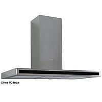 Fabiano Linea 90 inox декоративная кухонная вытяжка 90 см. нержавеющая сталь, фото 1