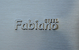 Fabiano Linea 90 inox декоративная кухонная вытяжка 90 см. нержавеющая сталь, фото 3