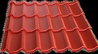 Металлочерепица Монтеррей глянцевая покраска 0,45 мм