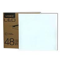 Матовая светодиодная панель  VIDEX 48W 6000K 220V