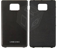 Задняя крышка батареи для Samsung Galaxy S2 i9100, черный, оригинал