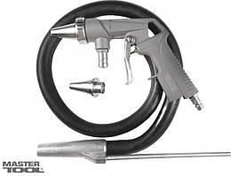 Пистолет пескоструйный со шлангом, Ø 6 мм, 320-420 л/мин, 10 бар