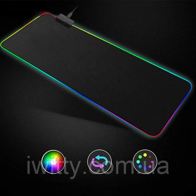 Коврик для мыши с подсветкой Rasure (RGB L-780 780х300мм )