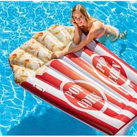 Пляжный надувной плот-матрас Intex 58779 «Попкорн», 178*124 см 11/12.7