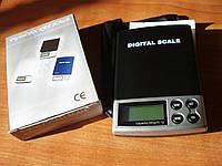Весы 500г - 0,1г электронные, карманные, ювелирные профессиональные