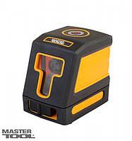 Уровень лазерный H+V, 2 лазерные головки RED, 0.3мм/м, 15м, чехол, фото 1