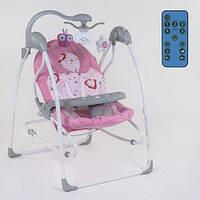 Кресло-качалка для ребёнка,качалка-шезлонг, Детская качель электрическая   СХ-60680 JOY 11/77.5