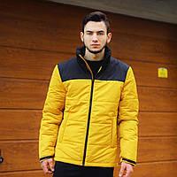 Желто-черная мужская куртка