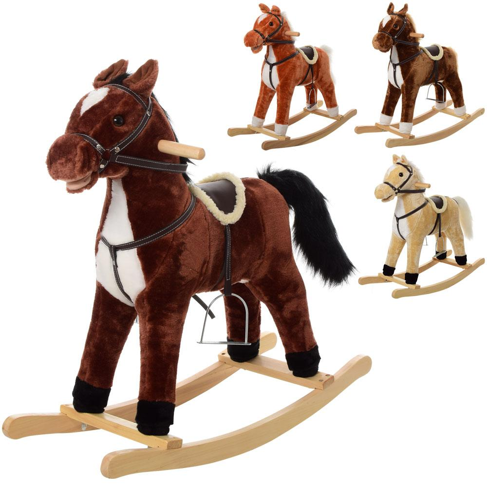Музыкальная лошадка — качалка