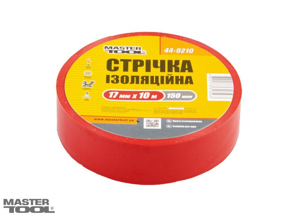 Лента изоляционная 0,15 мм,17 мм*10 м, 10 шт, красная