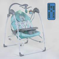 Кресло-качалка для ребёнка,качалка-шезлонг, Детская качель электрическая   СХ-70790 JOY 11/82