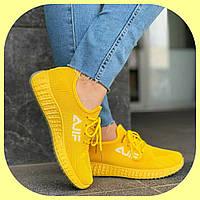 Женские Желтые Летние Модные Кроссовки