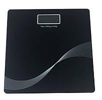 Весы напольные Domotec YZ-1604 черные