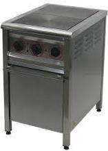 Плита електрична Арм-Еко ПЕ-2Ш/нерж, фото 2